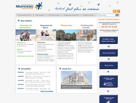 Accueil | Monceau Assurances