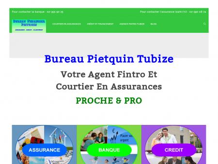Bureau Pietquin Tubize : assurance, banque,...
