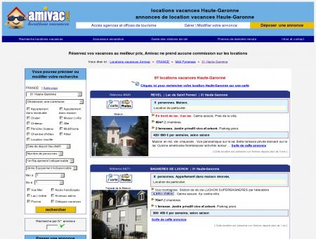 locations vacances Haute-Garonne - annonces...