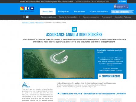 Assurance annulation croisière : assistance et...