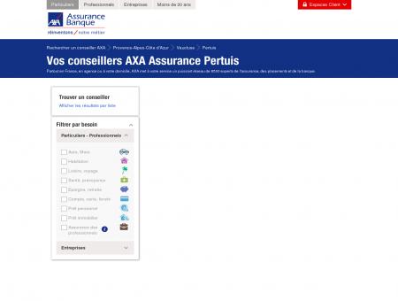 Assurance Pertuis - 84120 - AXA - Rechercher...