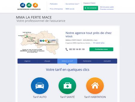 Agence LA FERTE MACE GARE - Assurance...