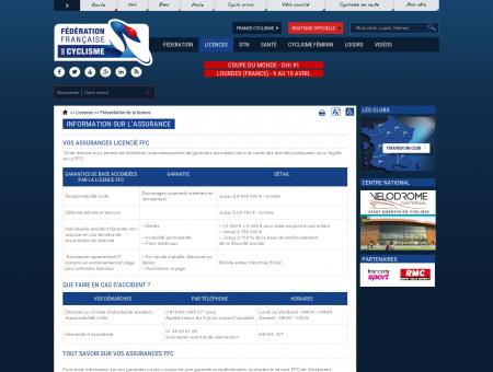 Information sur l'assurance | Fédération...