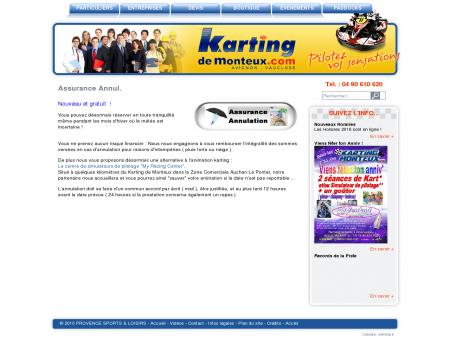 Assurance Annul. - Karting de Monteux