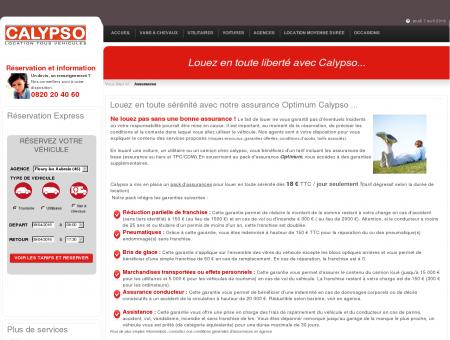 Calypso Locations - Les assurances