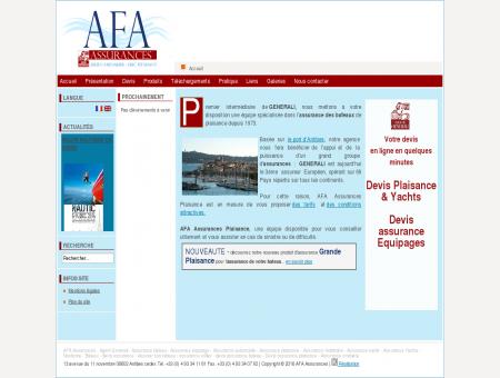 AFA Plaisance,assurances maritimes, assurance...