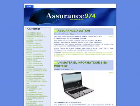 Assurance 974 : L'assurance a la Reunion