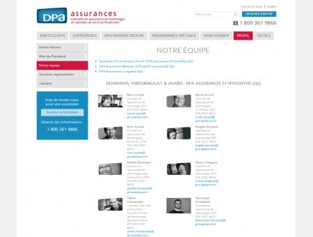 DPA Assurances - Notre équipe