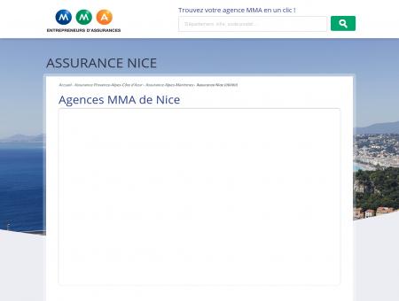 Assurance Nice  trouvez votre agence MMA à...