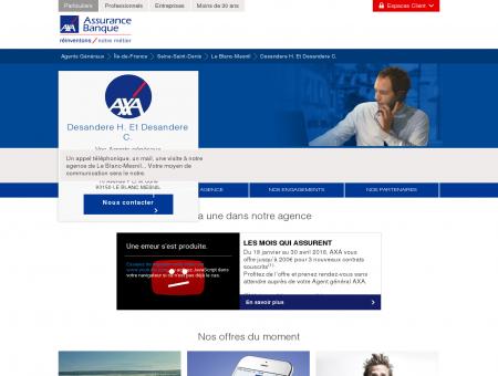 Agence Assurance Le Blanc-Mesnil 93150 - AXA