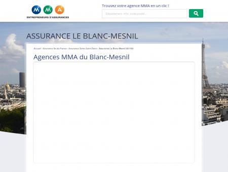 Assurance Blanc-Mesnil  trouvez votre...
