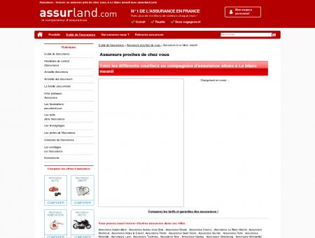 Assurance Le Blanc Mesnil : trouvez un...