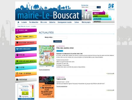 Actualités - Mairie Le Bouscat