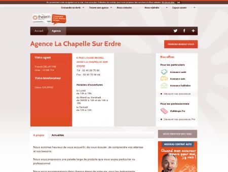 Votre agence Thélem assurances La Chapelle...