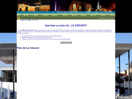 Bienvenue sur www.lecreusot.com. Nous...