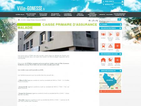 Caisse Primaire d'Assurance Maladie   Ville...