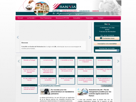 Banxia - Gestion de Patrimoine 62490 Fresnes...