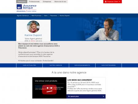 Agence Assurance Fleurance 32500 - AXA