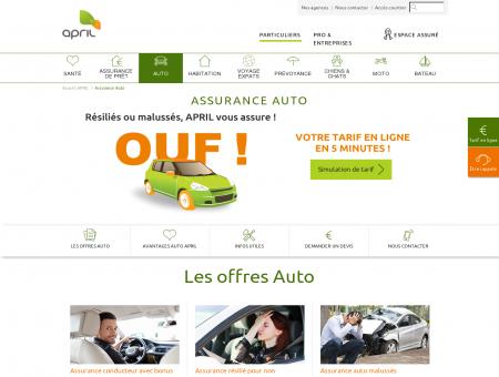 Assurance Auto   Découvrez les Offres APRIL