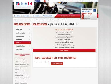 Agences AXA JUVIGNY LE TERTRE | Club 14