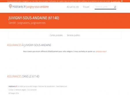 Assurances Juvigny-sous-Andaine - Habitants