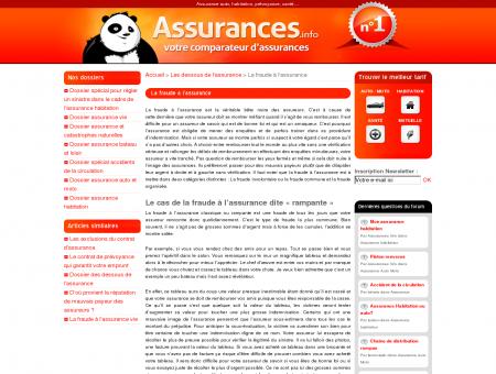 La fraude à l'assurance » Assurances.info