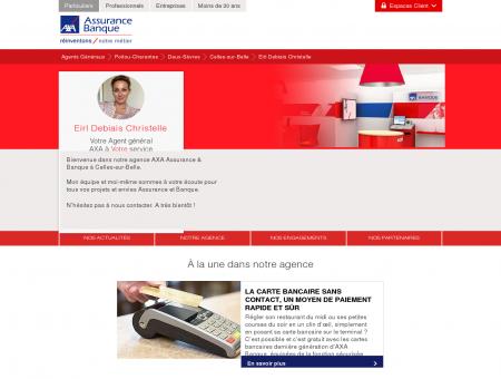 Agence Assurance Celles-sur-Belle 79370 - AXA