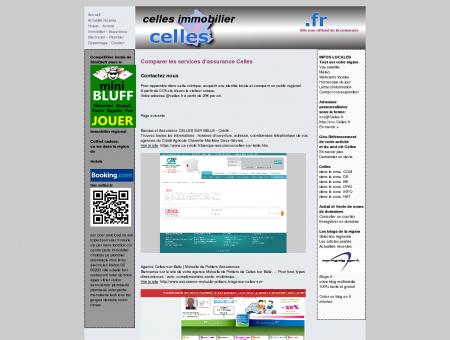 Site non officiel Celles : votre guide sur Celles...