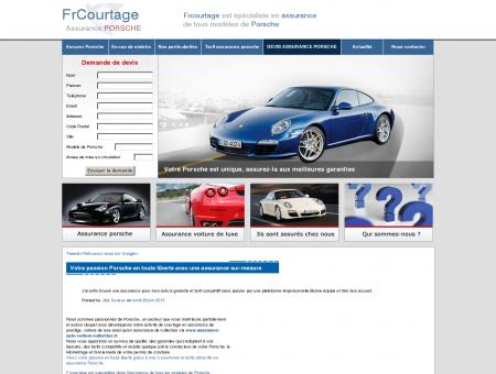 Assurance Porsche - Courtier en assurance de...
