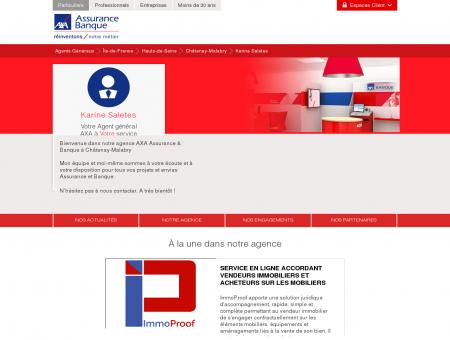 Agence AXA Banque Châtenay-Malabry 92290 ...
