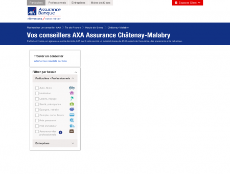 Assurance Châtenay-Malabry - 92290 - AXA