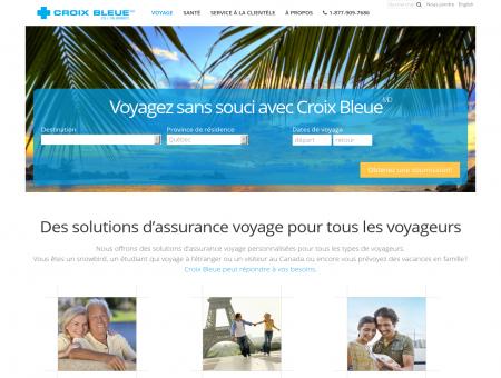 Assurance Voyage Québec Canada   Croix...