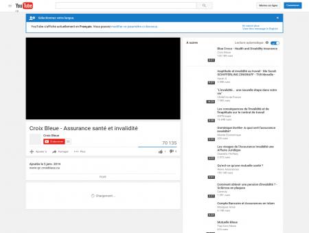 Croix Bleue - Assurance santé et invalidité - YouTube