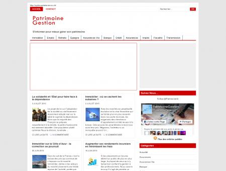 PatrimoineGestion.com : conseil en gestion de...