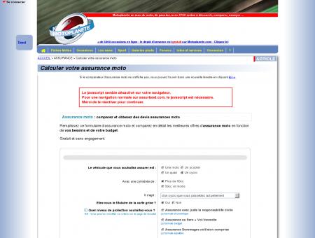 Assurance - Calculer votre assurance moto -...