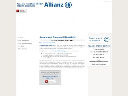 Assurance Clermont l Herault - ALLIANZ -...