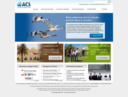 ACS Solutions d'Assurance Voyage &...