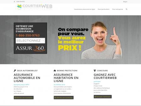 Assurance auto en ligne | Courtierweb