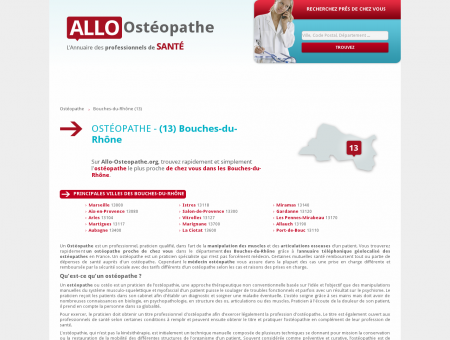 osteopathe saint-r�my