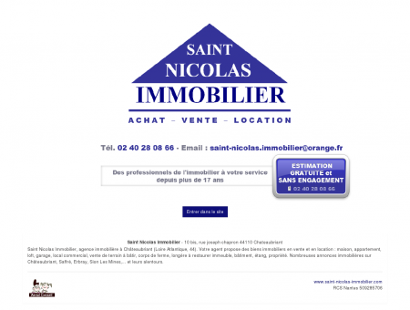 agence immobiliere chateaubriant loire...