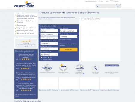 Poitou-Charentes - Réservez votre location en ligne.