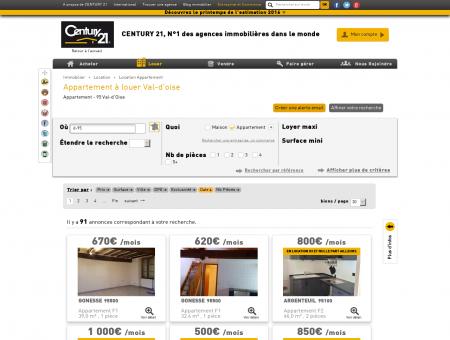 Location Appartement à Val-d'Oise (95) -...