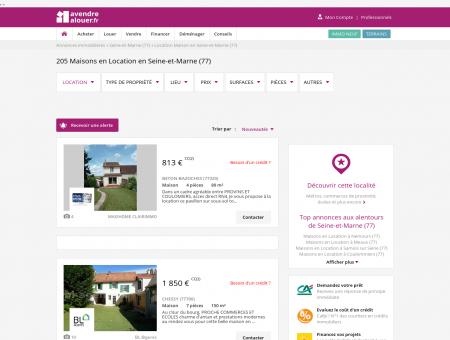 Location Maison Seine-et-Marne | Louer...