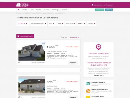 Location Maison Loir-et-Cher | Louer Maison...