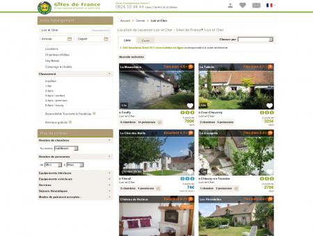 Location de vacances Loir et Cher - Gîtes de...