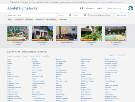 Location vacances dans le Loir-et-Cher :...
