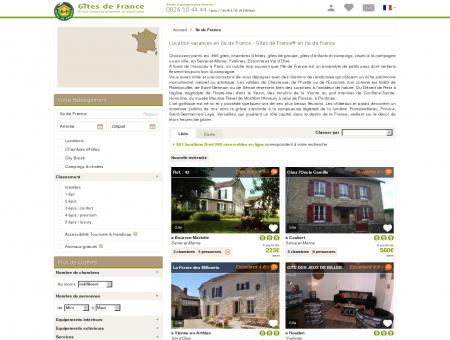 Location vacances en Ile de France - Gîtes de...