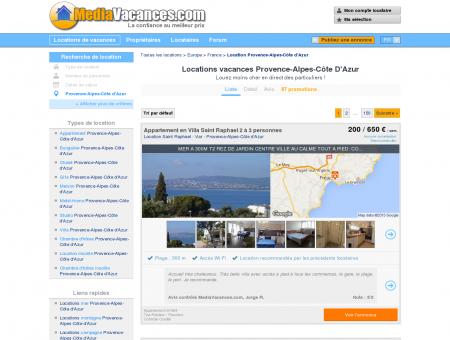 LOCATIONS VACANCES PROVENCE-ALPES...