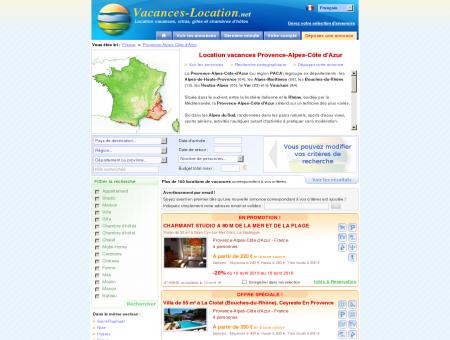 Location vacances Provence-Alpes-Côte d'Azur