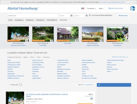 Eure-et-Loir : location maison de vacances |...